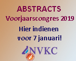 Abstractsubmission Voorjaarscongres 2019
