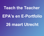 Teach the Teacher EPAs en E-Portfolio
