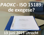 PAOKC ISO 15189: de excegese?
